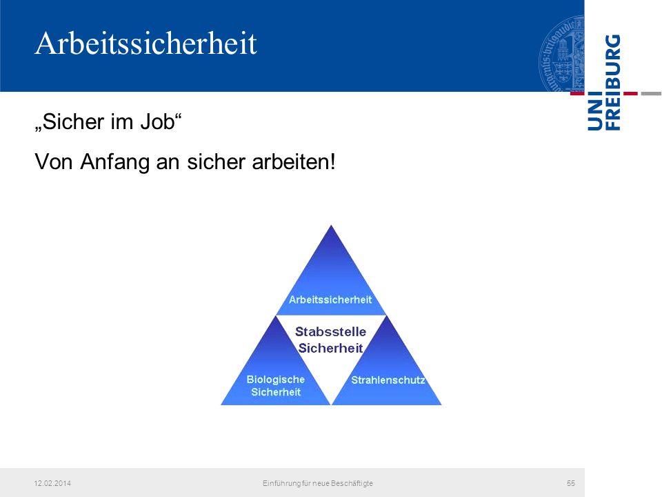 Einführung für neue Beschäftigte