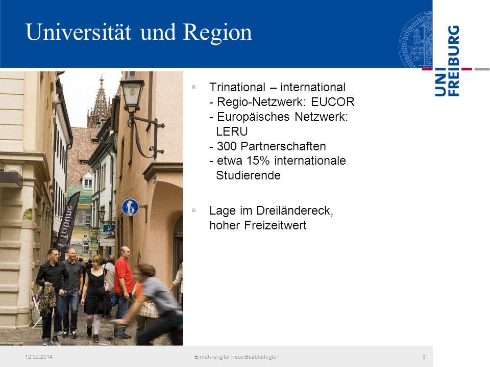Universität und Region