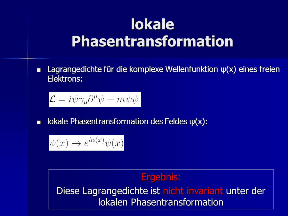 lokale Phasentransformation
