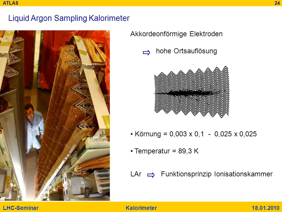 Liquid Argon Sampling Kalorimeter