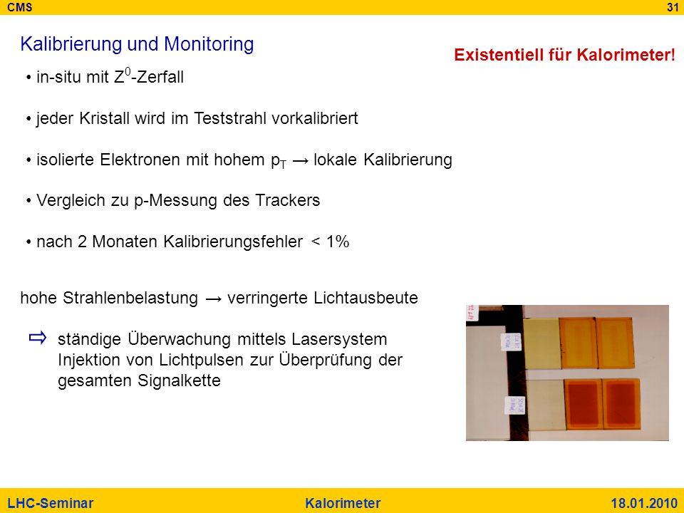 Kalibrierung und Monitoring