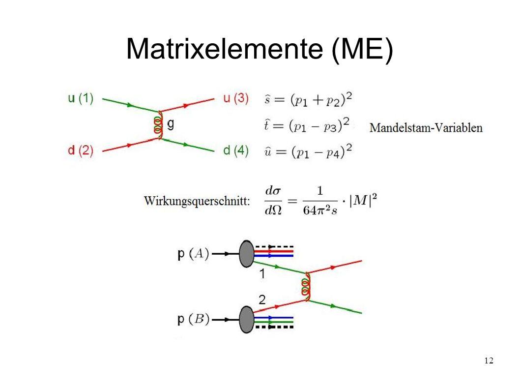 Matrixelemente (ME)