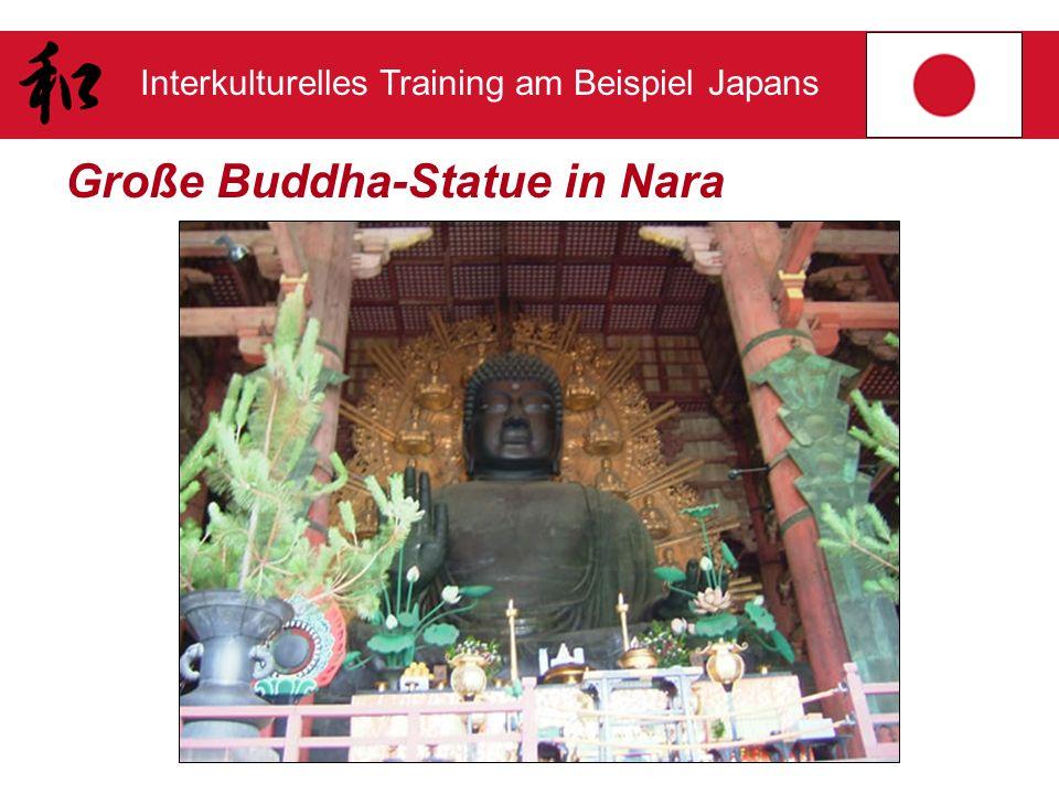 Große Buddha-Statue in Nara