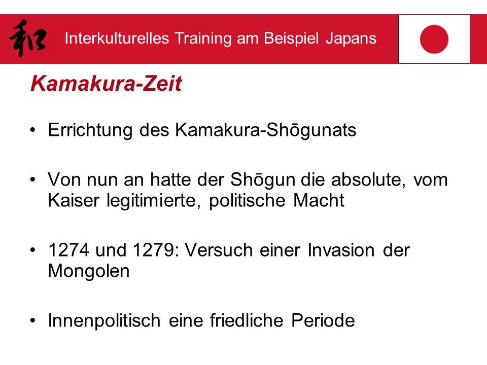 Kamakura-Zeit Errichtung des Kamakura-Shōgunats