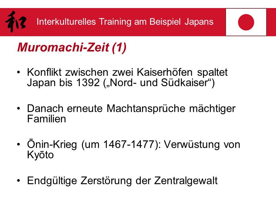 """Muromachi-Zeit (1) Konflikt zwischen zwei Kaiserhöfen spaltet Japan bis 1392 (""""Nord- und Südkaiser )"""
