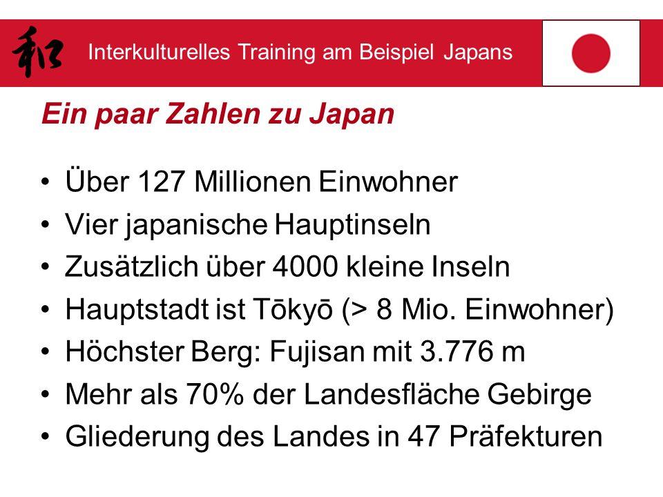 Ein paar Zahlen zu Japan