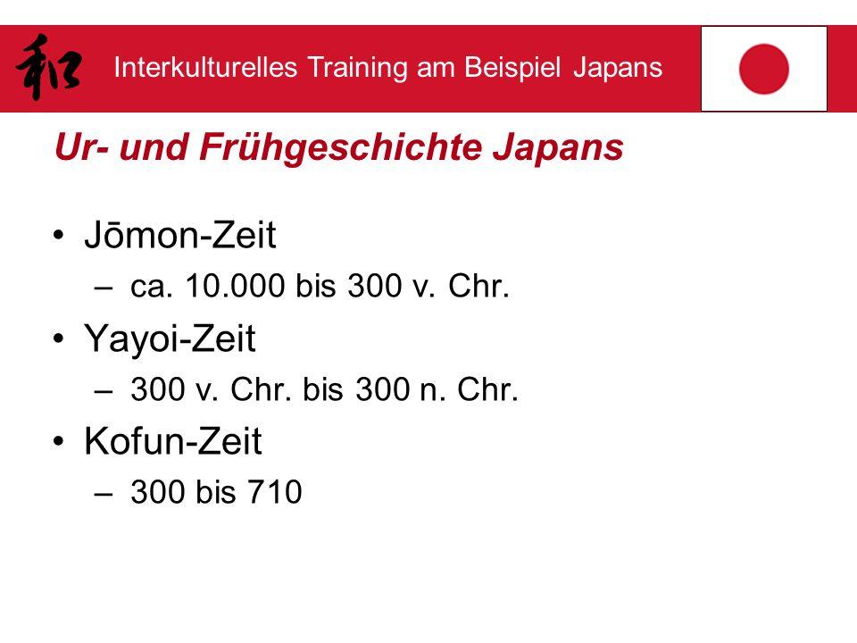 Ur- und Frühgeschichte Japans