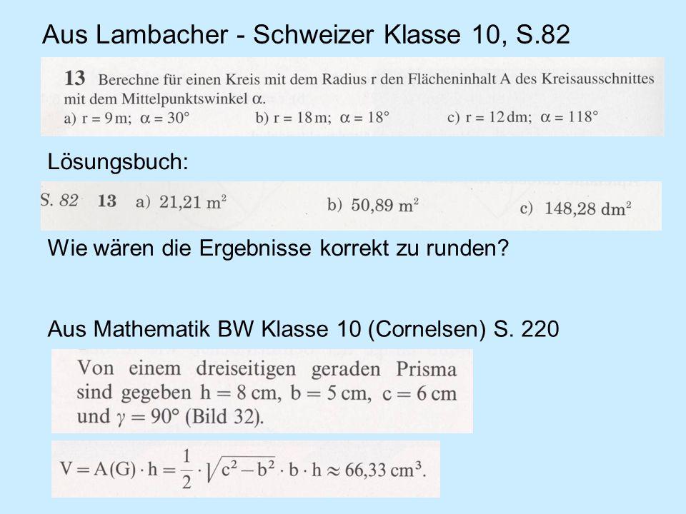 Aus Lambacher - Schweizer Klasse 10, S.82