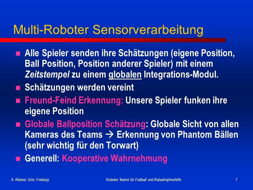Multi-Roboter Sensorverarbeitung