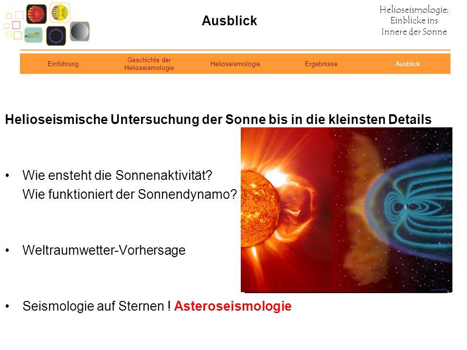 Geschichte der Helioseismologie
