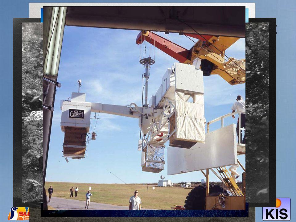 Der Flug von Spektrostratoskop: