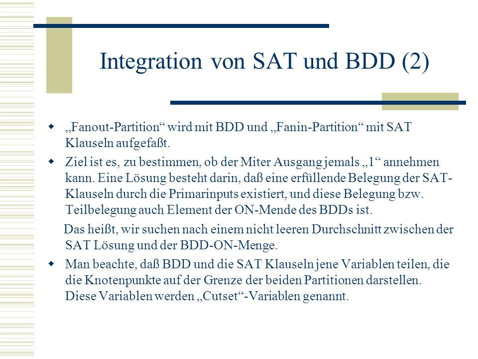 Integration von SAT und BDD (2)