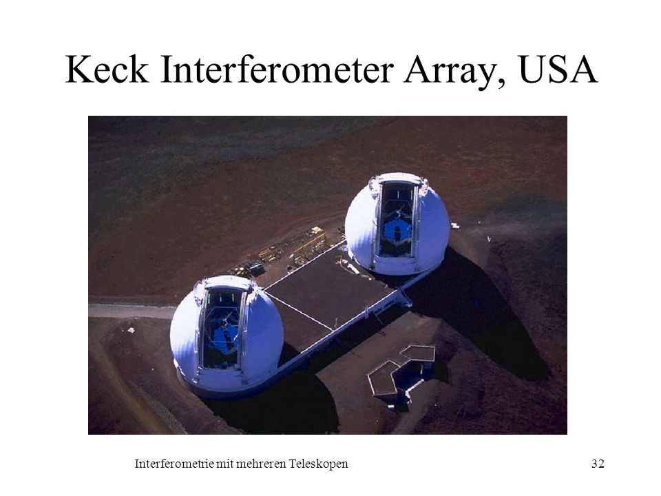 Keck Interferometer Array, USA
