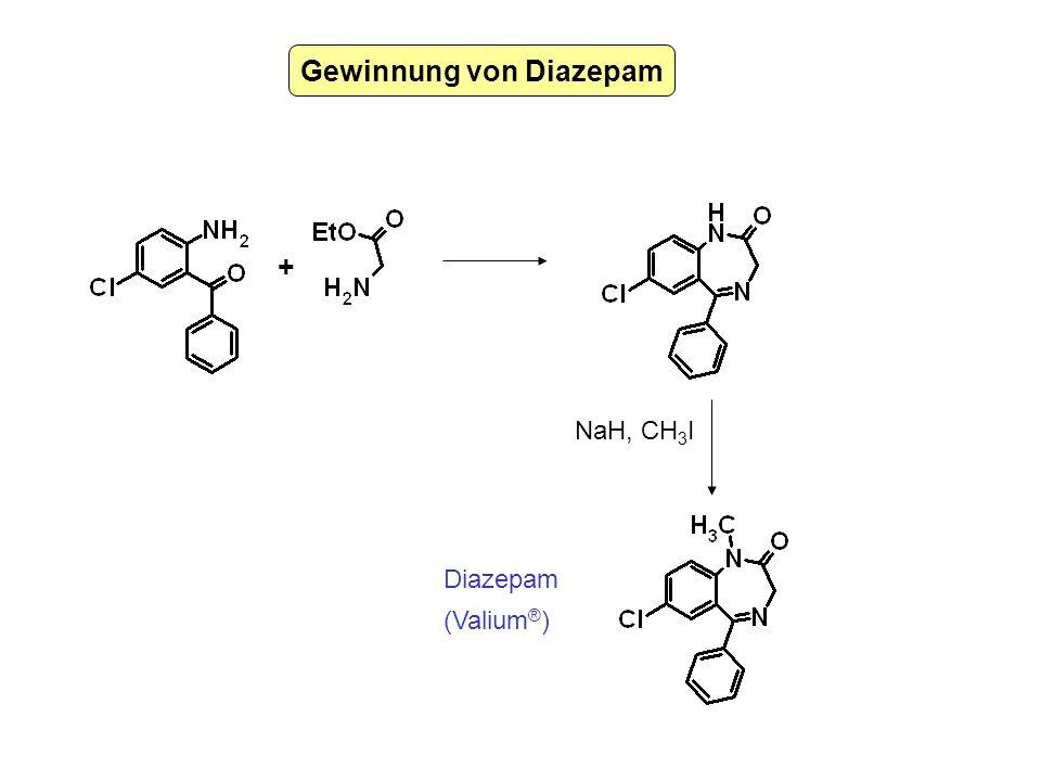 Gewinnung von Diazepam