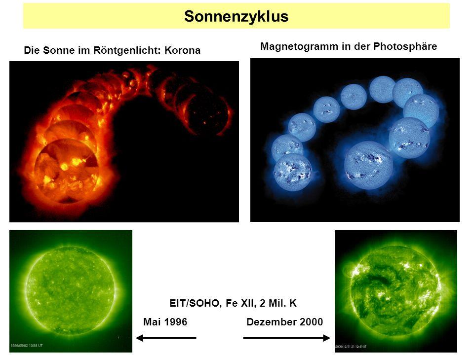 Sonnenzyklus Magnetogramm in der Photosphäre