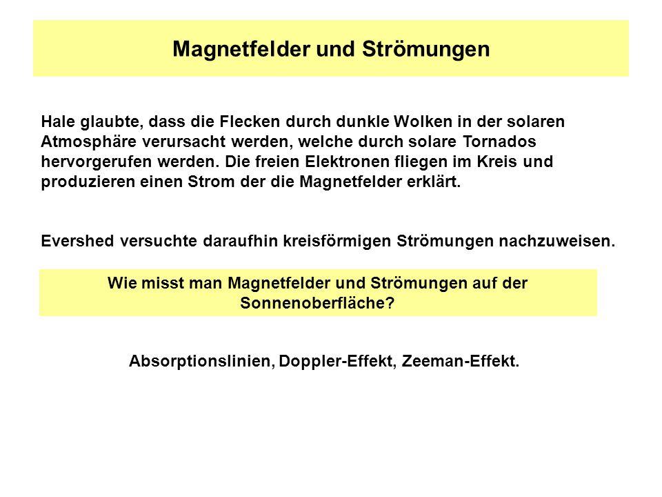 Magnetfelder und Strömungen