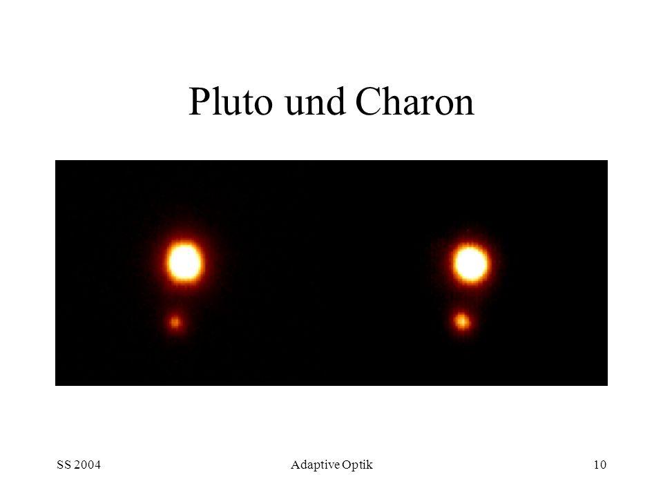 Pluto und Charon SS 2004 Adaptive Optik