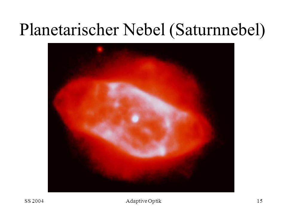 Planetarischer Nebel (Saturnnebel)