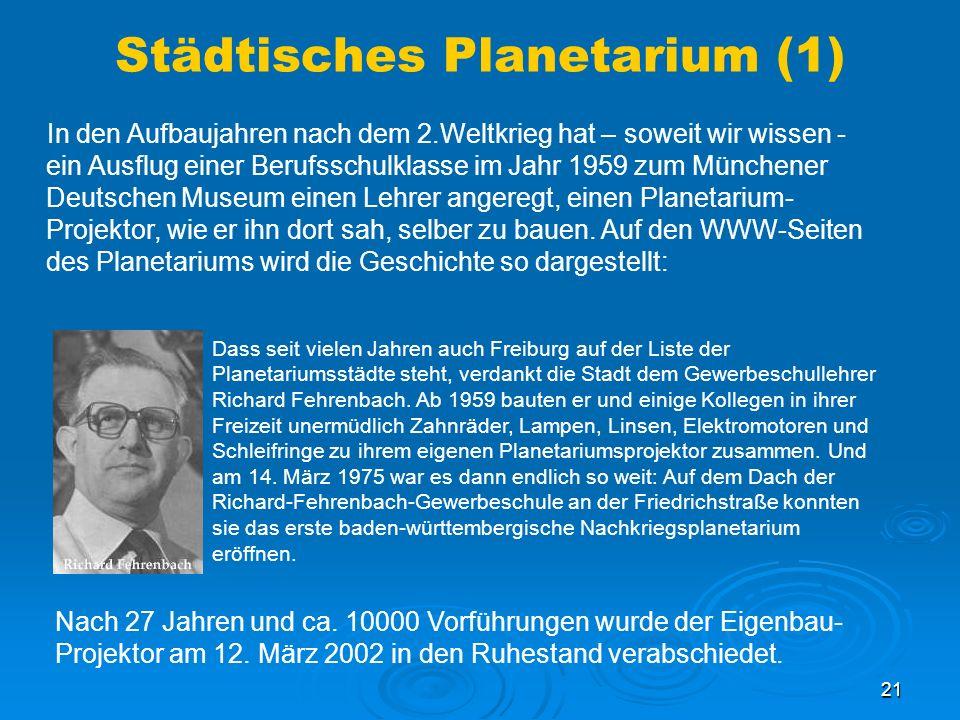 Städtisches Planetarium (1)