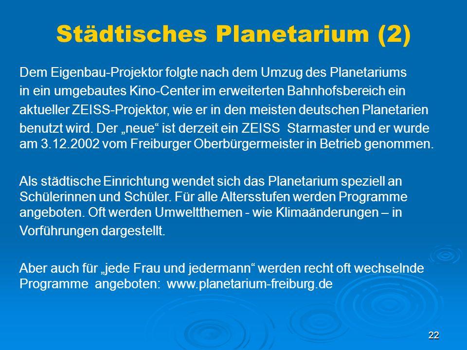 Städtisches Planetarium (2)