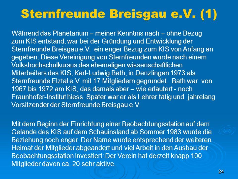Sternfreunde Breisgau e.V. (1)