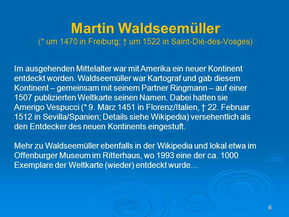 Martin Waldseemüller (