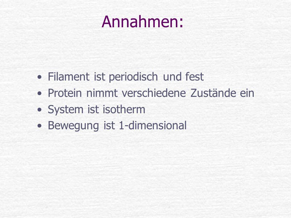 Annahmen: Filament ist periodisch und fest