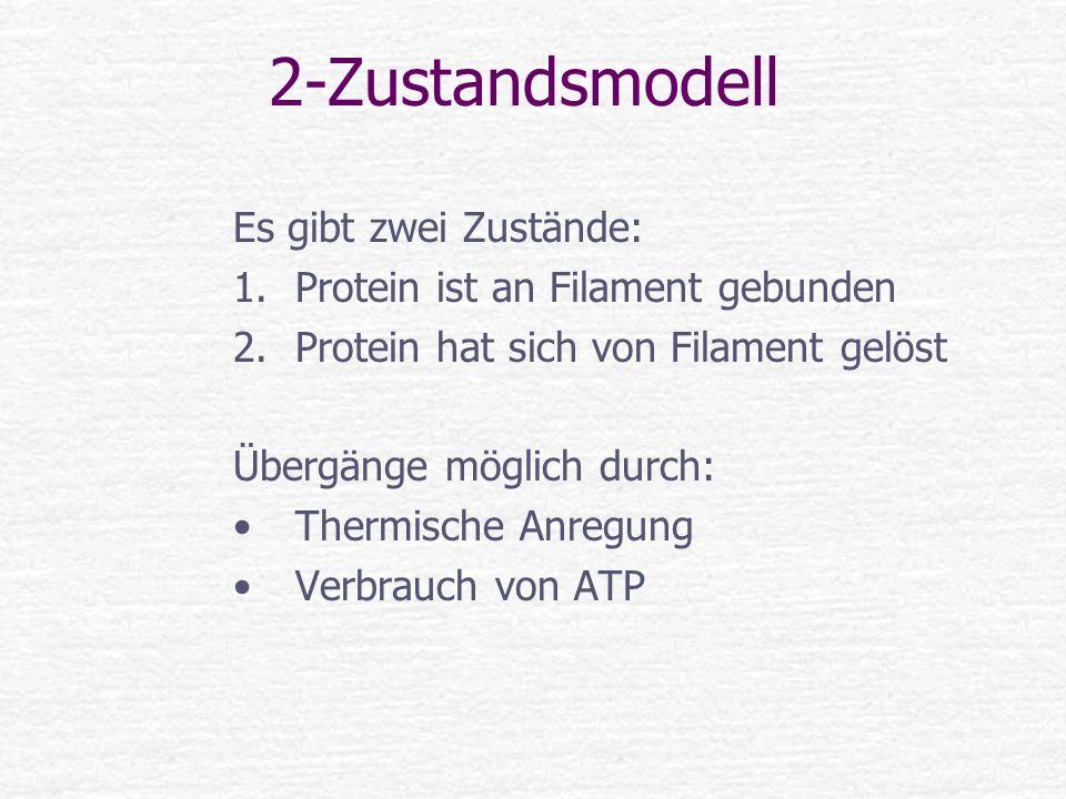 2-Zustandsmodell Es gibt zwei Zustände: