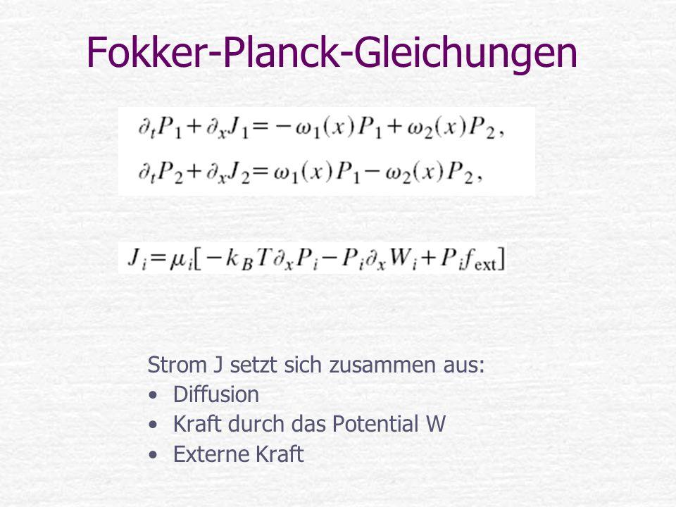 Fokker-Planck-Gleichungen