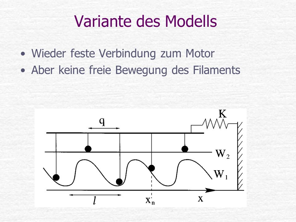 Variante des Modells Wieder feste Verbindung zum Motor