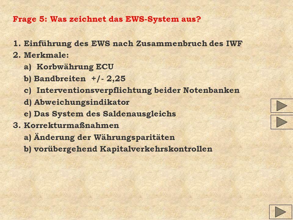 Frage 5: Was zeichnet das EWS-System aus