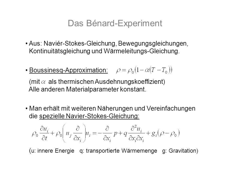 Das Bénard-Experiment