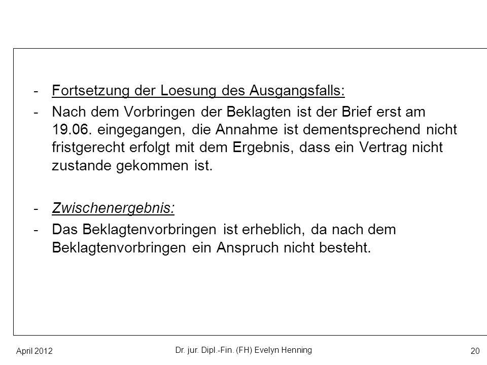 Dr. jur. Dipl.-Fin. (FH) Evelyn Henning