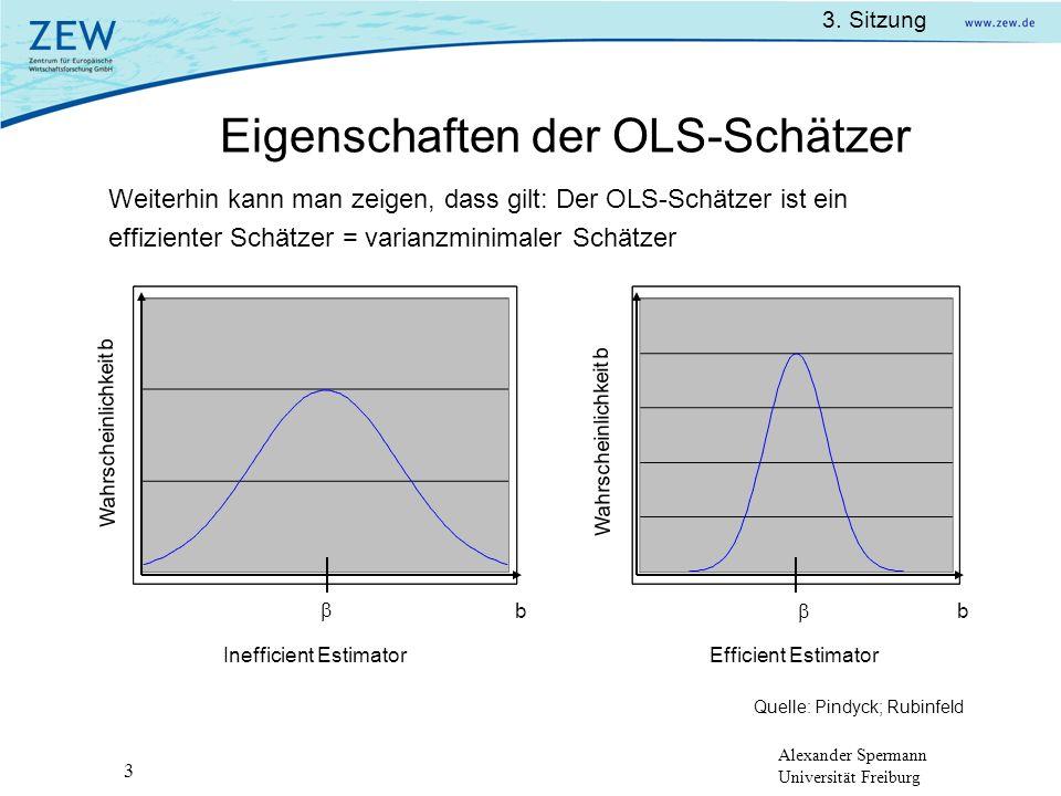 Eigenschaften der OLS-Schätzer