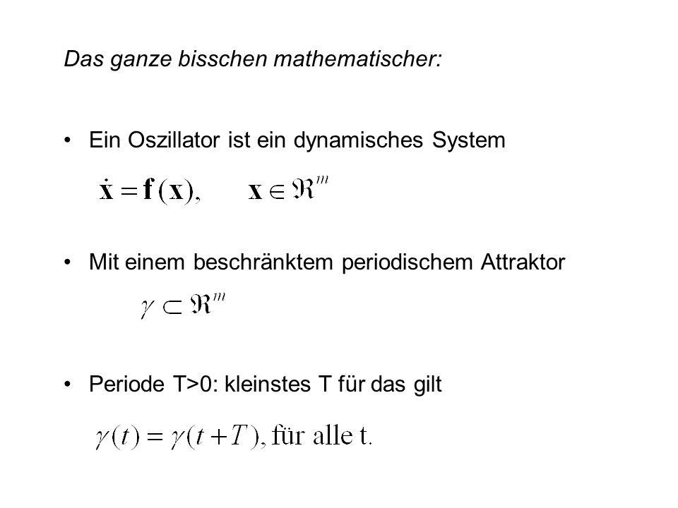 Das ganze bisschen mathematischer: