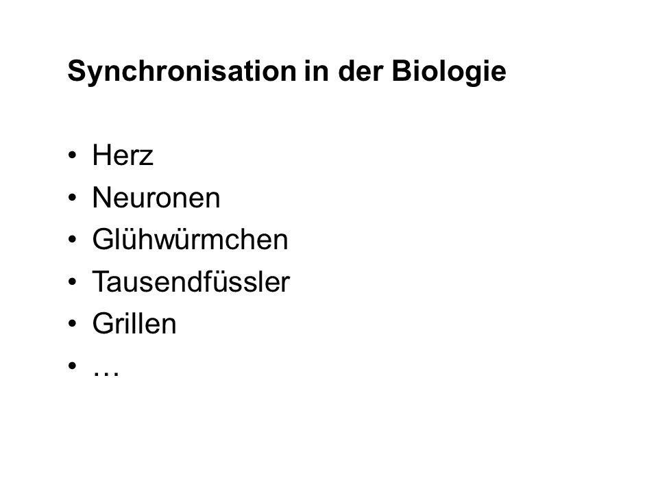 Synchronisation in der Biologie