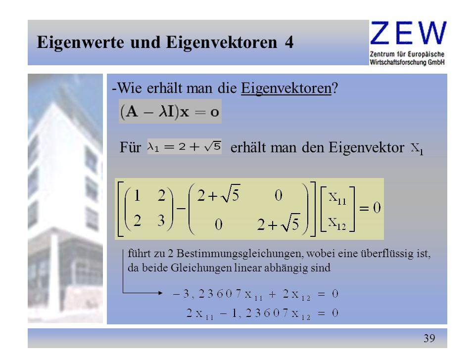 Eigenwerte und Eigenvektoren 4