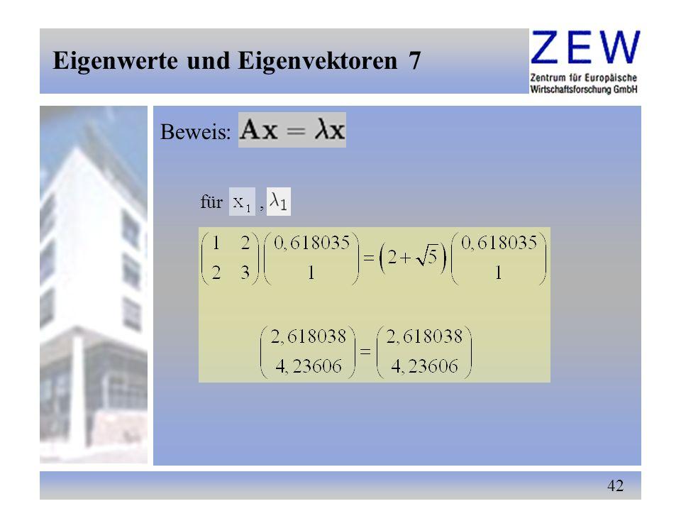 Eigenwerte und Eigenvektoren 7