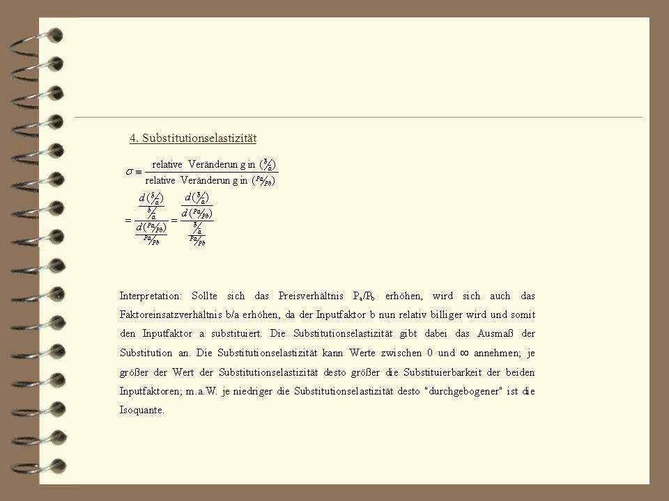 4. Substitutionselastizität