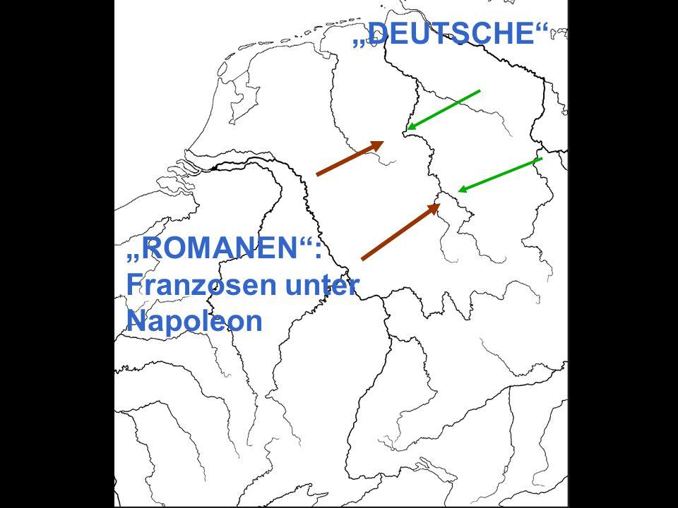 """""""DEUTSCHE """"ROMANEN : Franzosen unter Napoleon"""