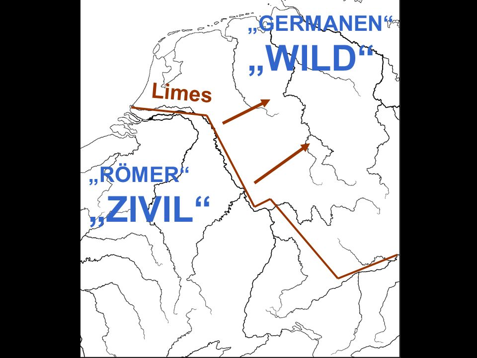 """GERMANEN ""WILD Limes ""RÖMER ""ZIVIL"