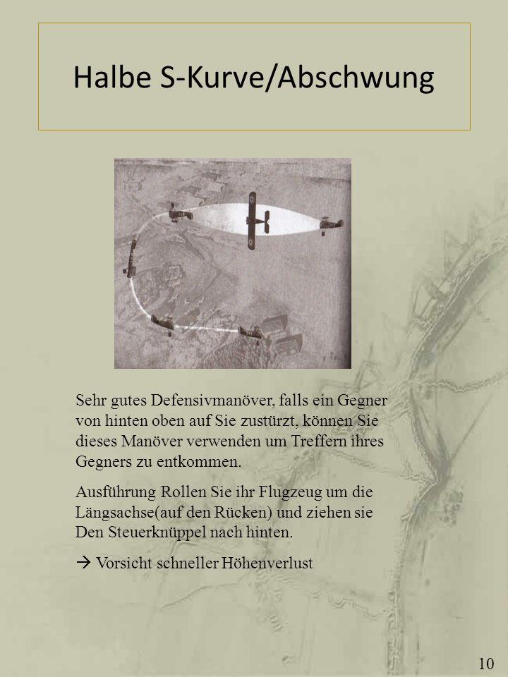 Halbe S-Kurve/Abschwung