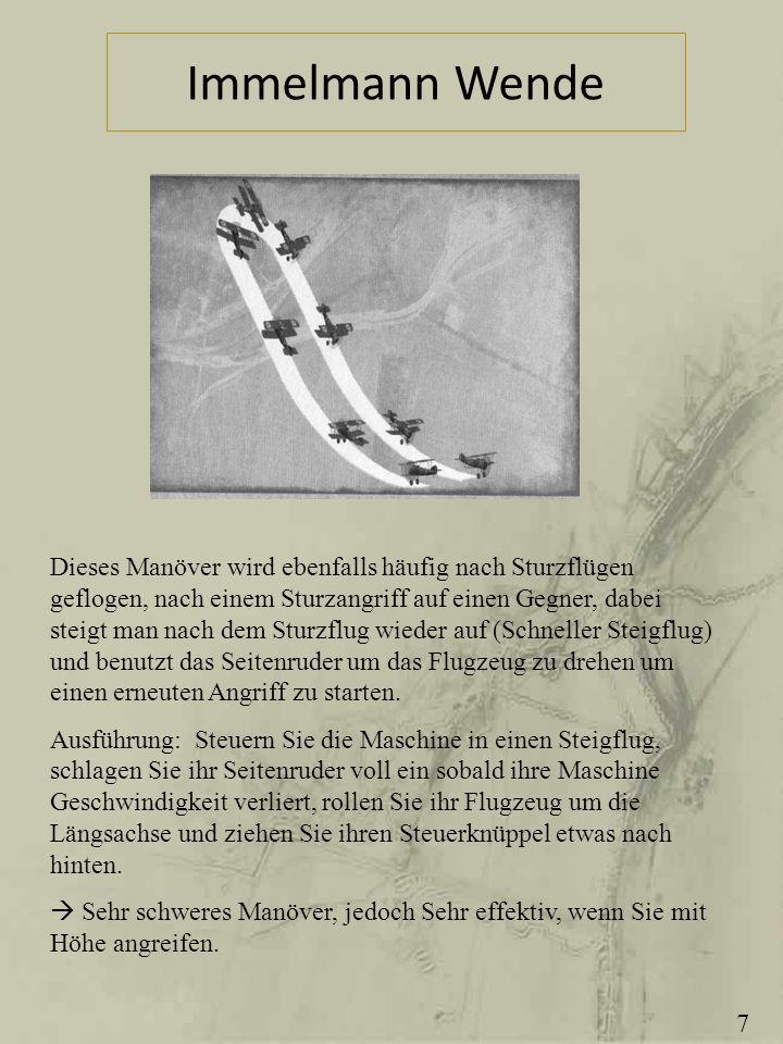 Immelmann Wende