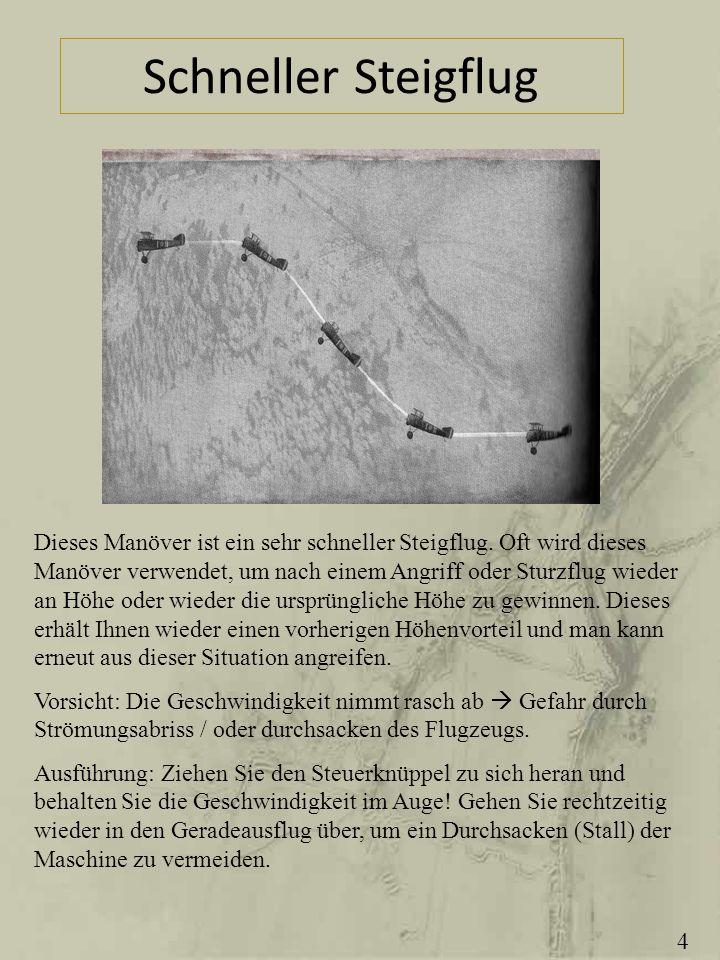 Schneller Steigflug