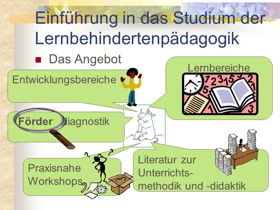Einführung in das Studium der Lernbehindertenpädagogik