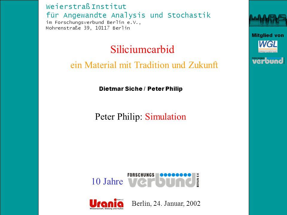 Siliciumcarbid ein Material mit Tradition und Zukunft