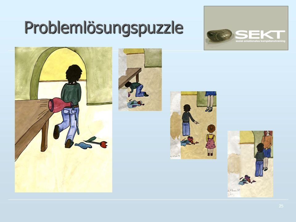 Problemlösungspuzzle