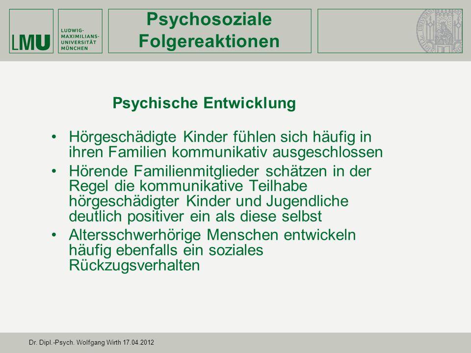 Psychische Entwicklung