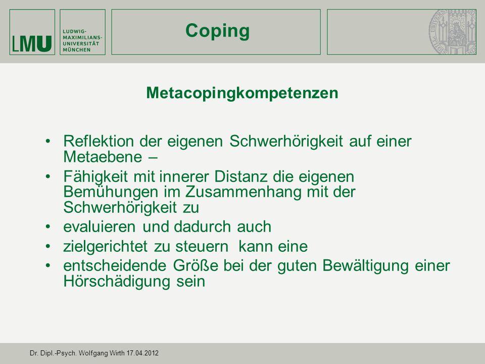 Metacopingkompetenzen