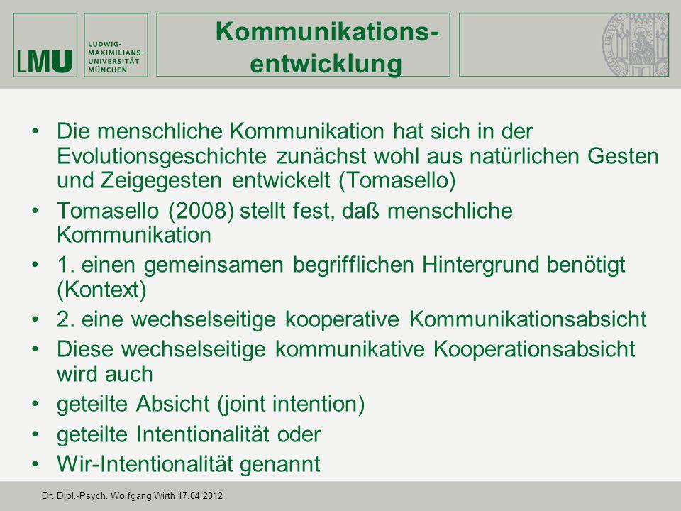 Kommunikations-entwicklung